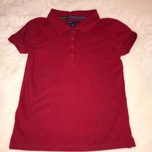 Gap Red Short sleeve polo